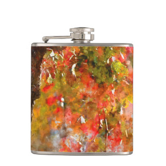 Grape Vines in the Fall Flasks