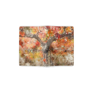 Grape Vines in the Fall Passport Holder