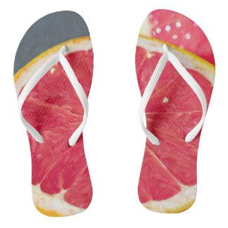 grapefruit adult slim strap sandals