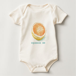 Grapefruit Baby Bodysuit