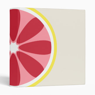 Grapefruit Binder