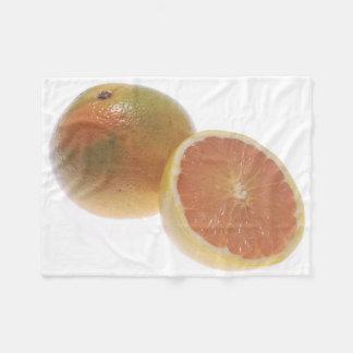 Grapefruit Fleece Blanket