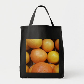 Grapefruit Grocery Tote Bag