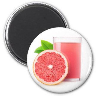 Grapefruit juice magnet