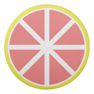 Grapefruit Slice Eraser