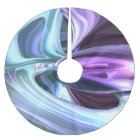 Grapes and Cream Abstract Brushed Polyester Tree Skirt