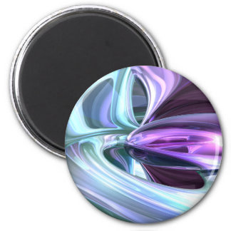 Grapes and Cream Abstract Magnet
