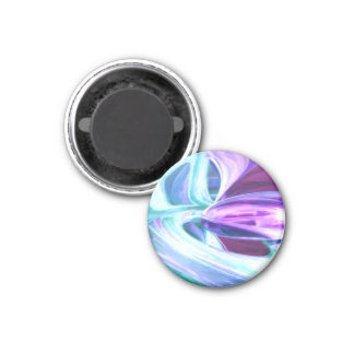 Grapes and Cream Pastel Abstract Refrigerator Magnets