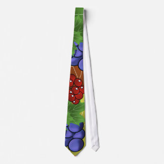 grapes and leaves tie