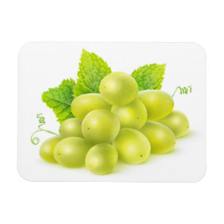 Grapes and mint magnet