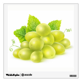 Grapes and mint wall decal