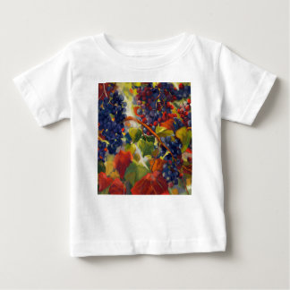 Grapes Art Baby T-Shirt