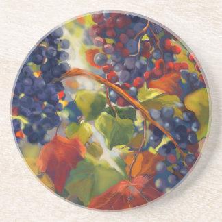 Grapes Art Coaster
