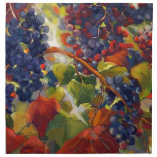 Grapes Art Napkin