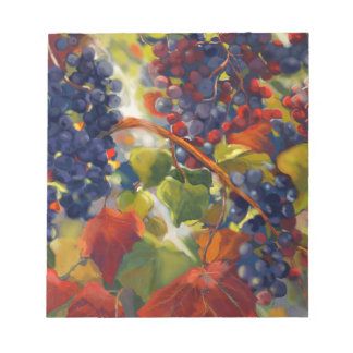 Grapes Art Notepad