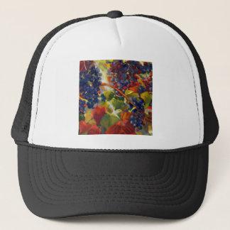 Grapes Art Trucker Hat