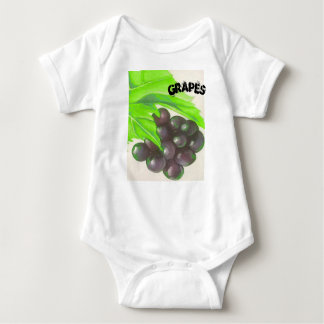 GRAPES BABY BODYSUIT
