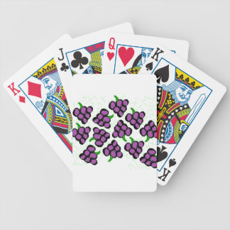grapes bicycle playing cards