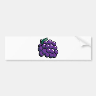 Grapes Bumper Sticker
