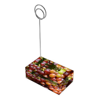 Grapes Card Holder Table Card Holder