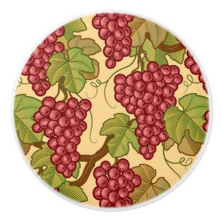 Grapes Ceramic Knob