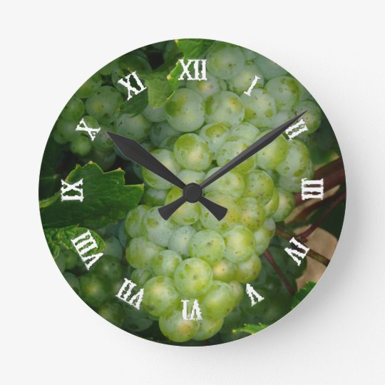 Grapes clock