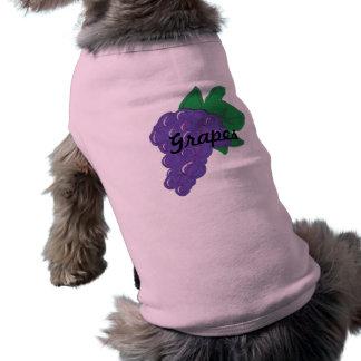Grapes Dog T Pet T Shirt