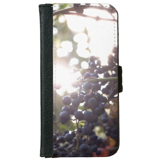 Grapes in Nature iPhone 6 Wallet Case