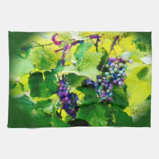 grapes kitchen towel 2017gr