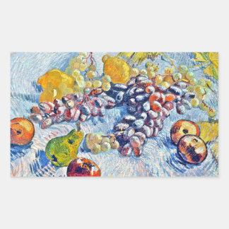 Grapes, Lemons, Pears and Apples Vincent van Gogh Sticker