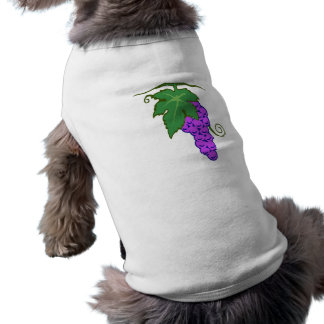 Grapes of grapes doggie t-shirt