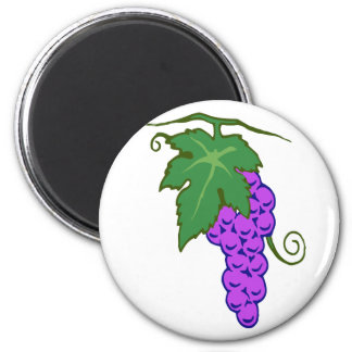 Grapes of grapes refrigerator magnets