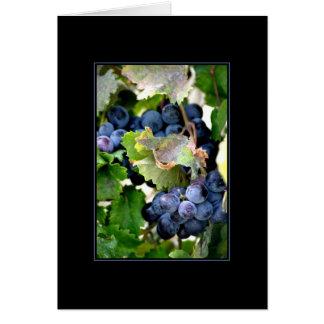 Grapes of Napa Card