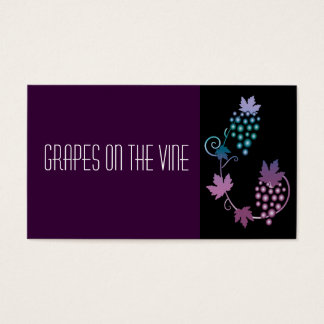 Grapes on a Vine Business Card