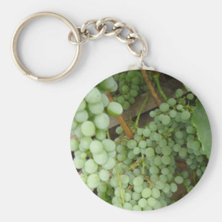 Grapes on the Vine Keychain