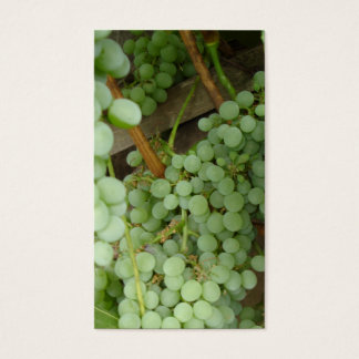 Grapes on the Vine Two Sided Profile Card
