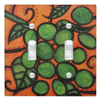 Grapes Orange And Green Light Switch Cover