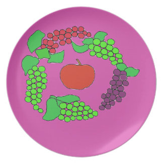 Grapes Party Plates