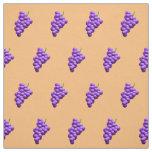 Grapes Pattern Fabric