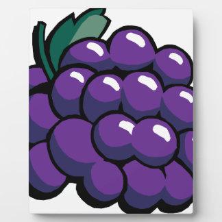 Grapes Plaque