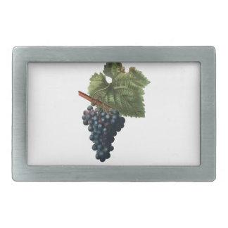 Grapes Rectangular Belt Buckles