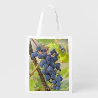 Grapes Reusable Grocery Bab Reusable Grocery Bag