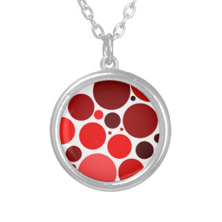 Grapes Silver Plated Necklace