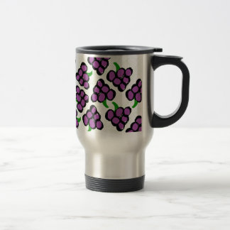 grapes travel mug