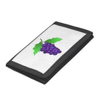 Grapes Trifold Wallets