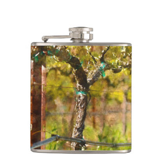 Grapes Vines in Spring Flask