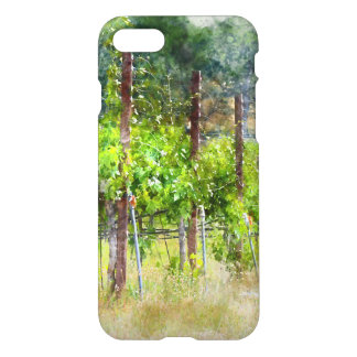 Grapes Vines in Spring in Napa Valley California iPhone 7 Case
