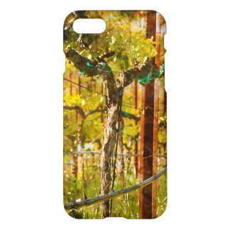 Grapes Vines in Vineyard during Spring iPhone 7 Case