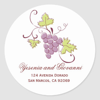 Grapevine Address Labels