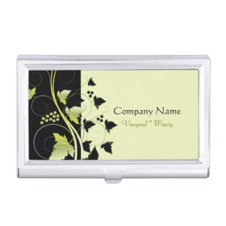 Grapevine Winery Business Card Holder